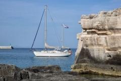 Marlijn bij het eiland Menorca